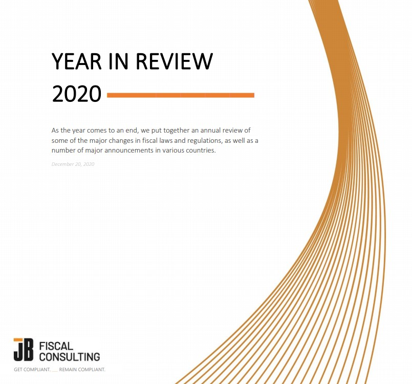 2020 Year-in-Review fiscalization fiscalization VAT